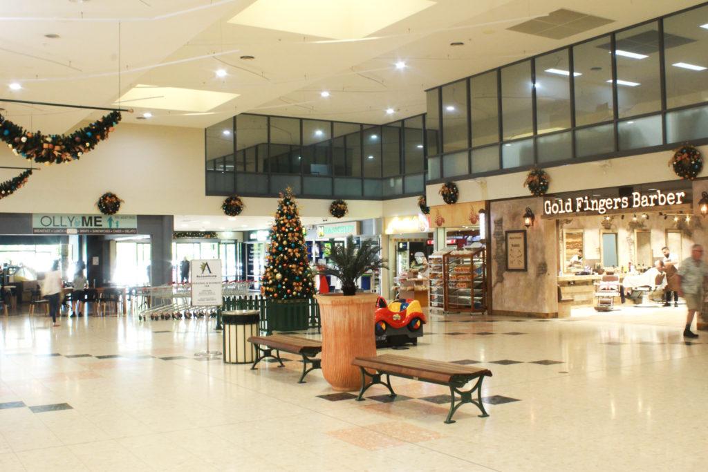 Harrington Plaza leasing - casual tenancy space