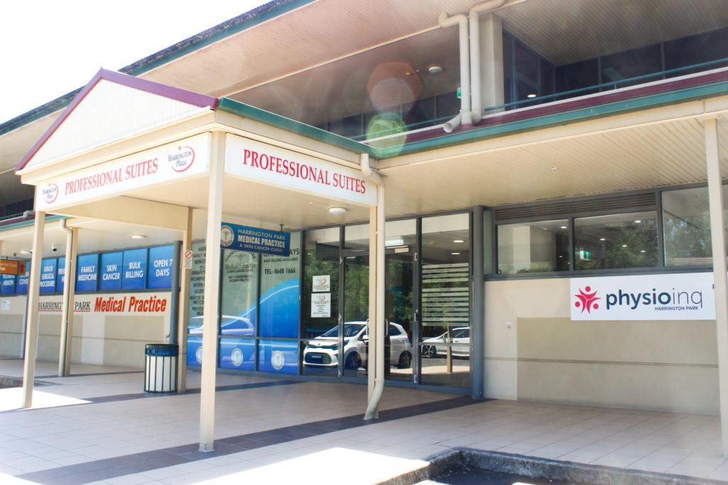 Harrington Plaza Professional services entry
