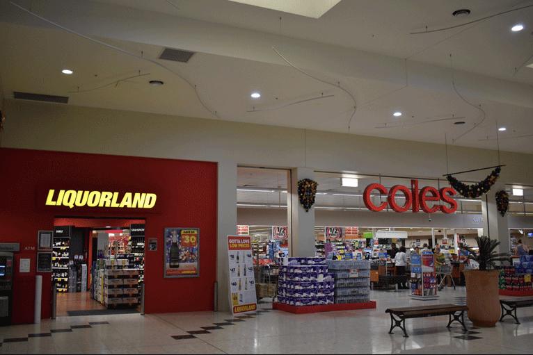 Coles and Liquor Land